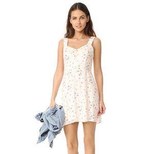 Wayf Hannah A-Line Mini Dress Floral